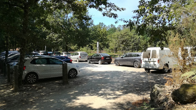 Entrada Parque de Estacionamento