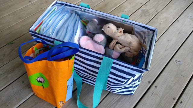 Travel activities for a 2 and 4 year old