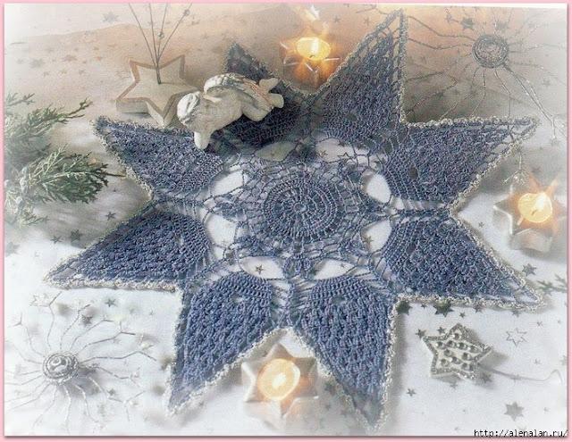 wzory świąteczne szydełkiem