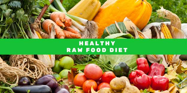 Healthy Raw Food Diet - Healthy Fast Food Option