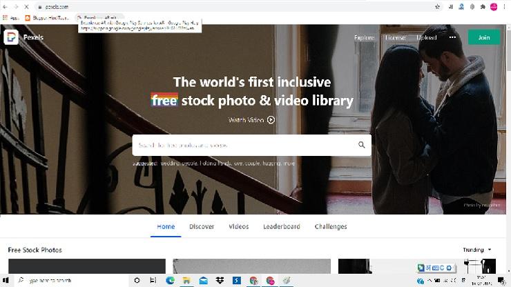 Pixels se image kaise download kare