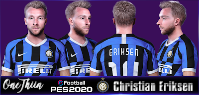 PES 2020 Faces Christian Eriksen by One