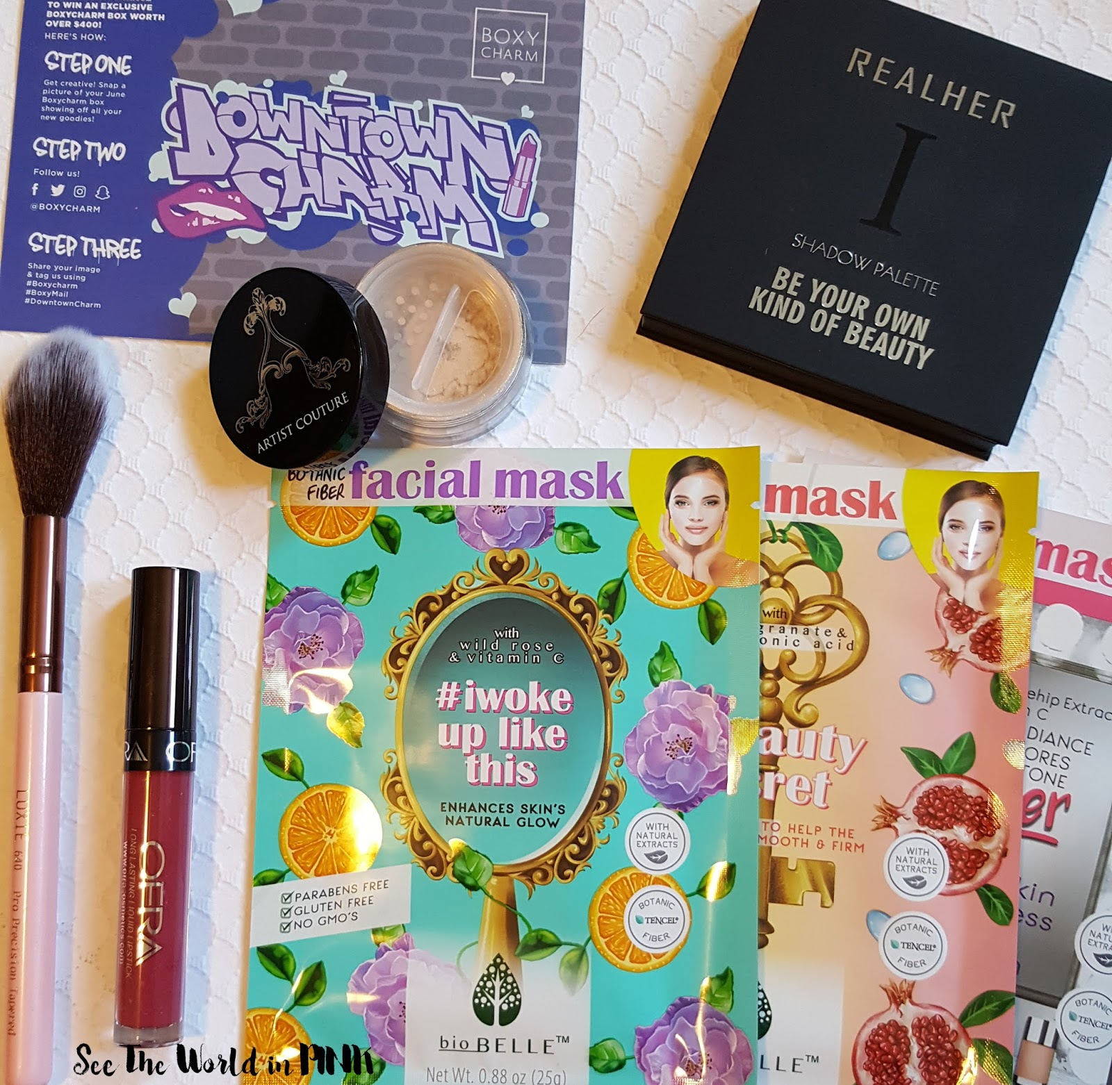 June 2017 - Boxycharm Unboxing and Review!