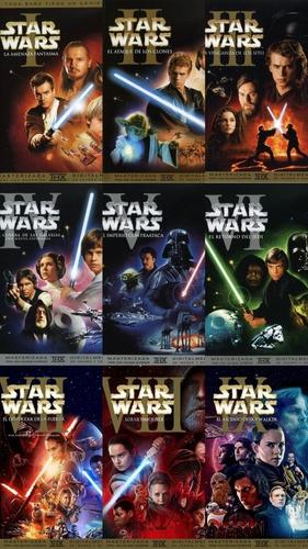 Portadas de películas de Star Wars