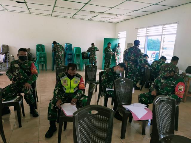 Laksanakan Litpers Dilakukan Personel Jajaran Kodim 0207/Simalungun