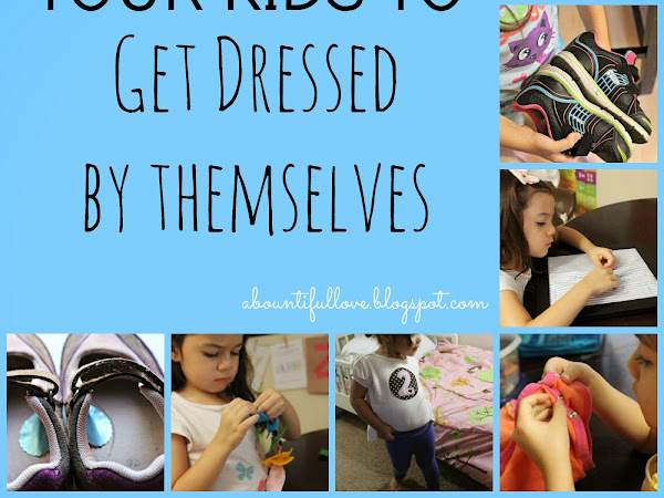 How to Teach Your Kids to Get  Dressed by Themselves