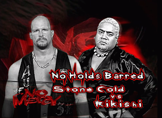 WWE / WWF - No Mercy 2000 - Stone Cold Steve Austin destroyed Rikishi in a no contest match