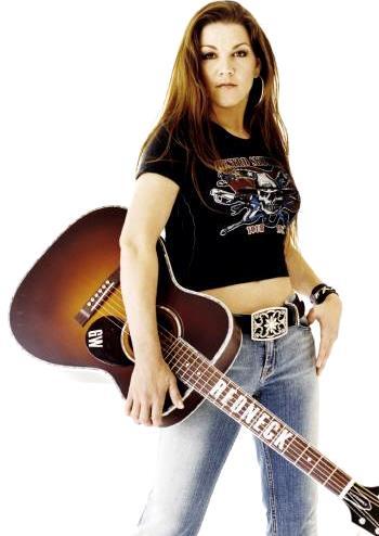 Foto de Gretchen Wilson con su guitarra