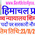 Shimla District Court Recruitment for the Post of Class-4 Last date 23/11/2019