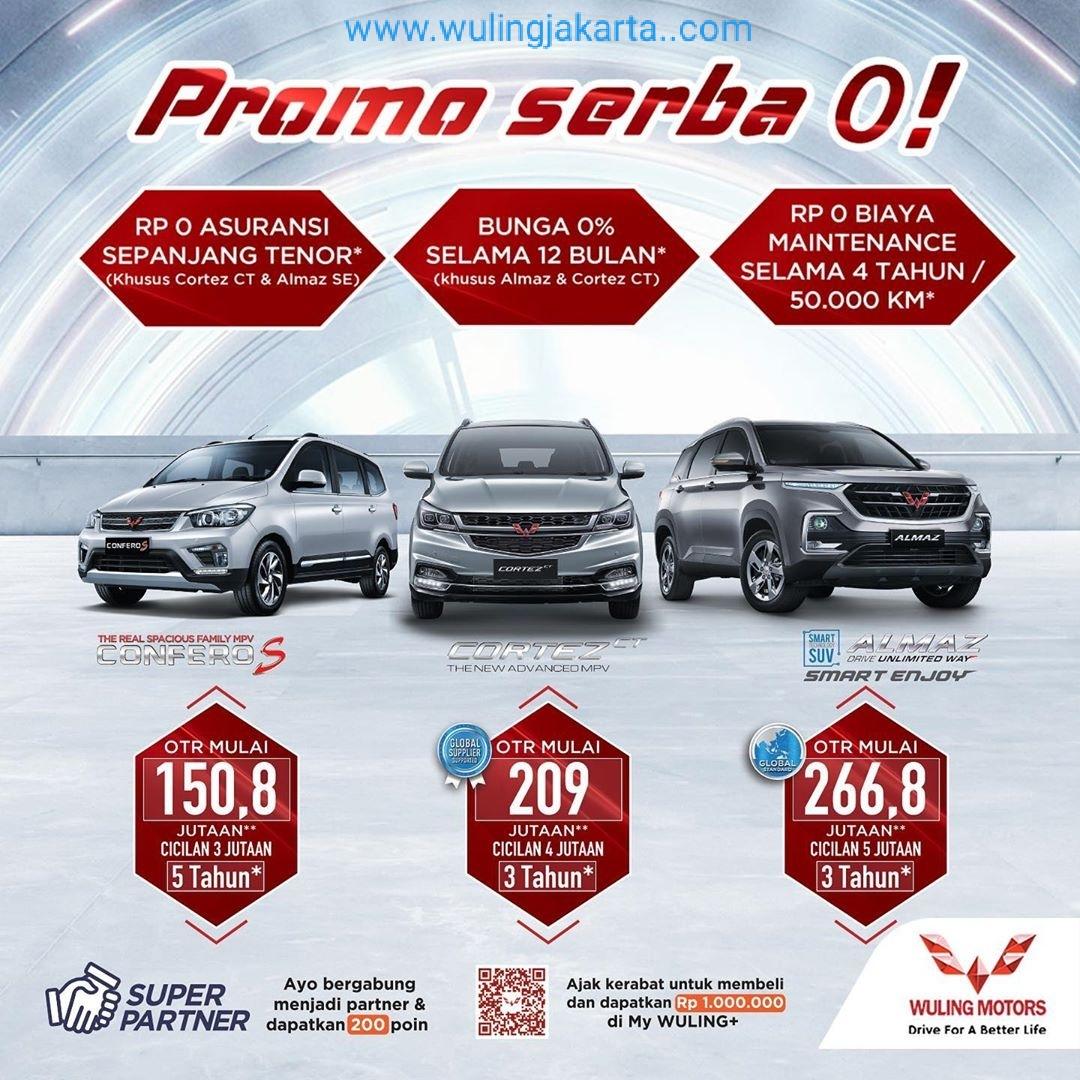 Promo Wuling September 2020 Harga Promo Wuling Kredit Mobil Wuling Wuling Jakarta