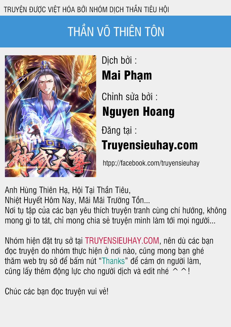 Thần Võ Thiên Tôn chap 179 - Trang 1