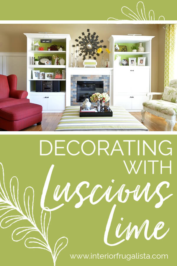 Decorating With Luscious Lime