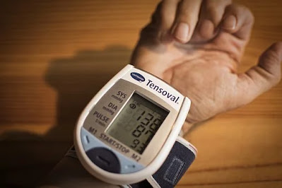 Blood pressure measuring monitor