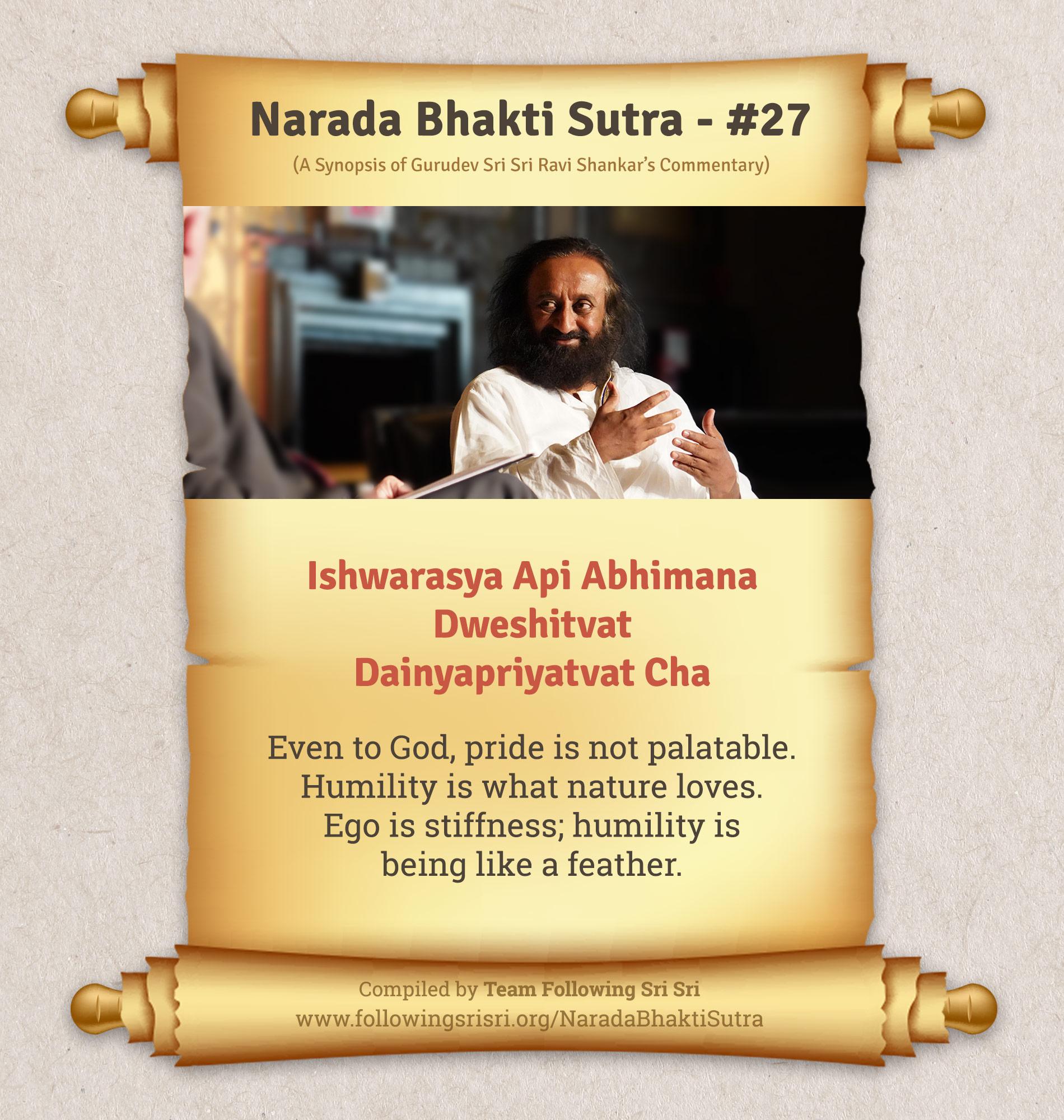 Narada Bhakti Sutras - Sutra 27