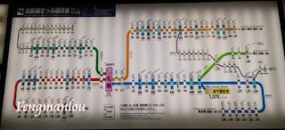北海道火车路线表