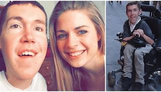 Πραγματική αγάπη: 22χρονος με πρόβλημα αναπηρίας βρήκε τον έρωτα της ζωής του