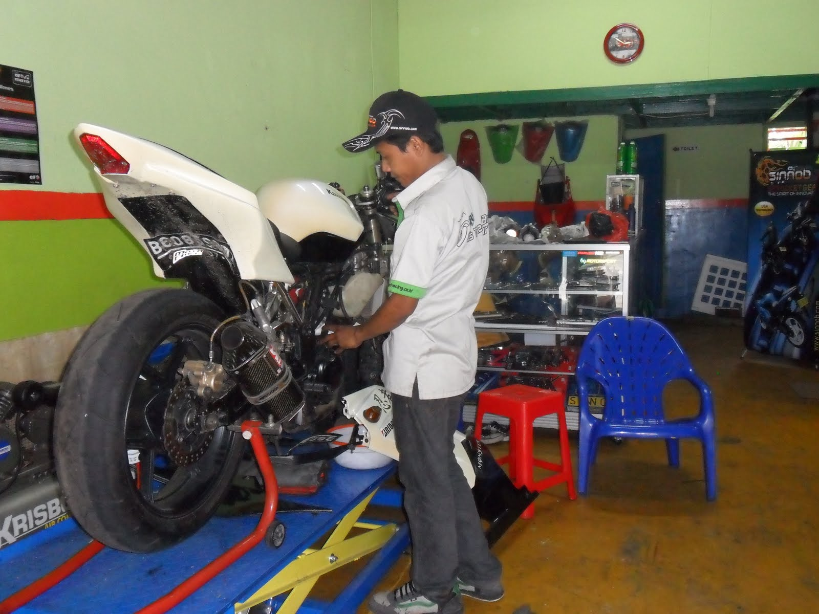 Honda CBR Set Up
