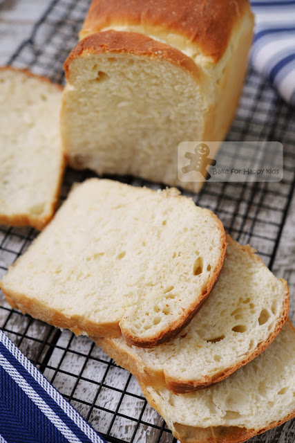 Japanese extremely soft fragile milk bread
