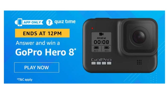 Amazon Quiz Answers Today 13 December win - Nokia 7.2 Smartphone