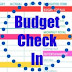 Frugal budget checkup