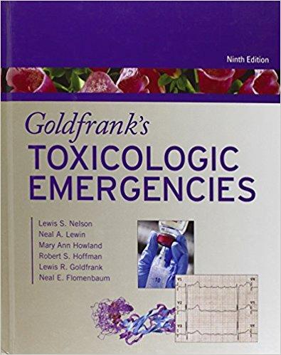 Goldfrank Cấp cứu Ngộ độc và Quá liều 9/e