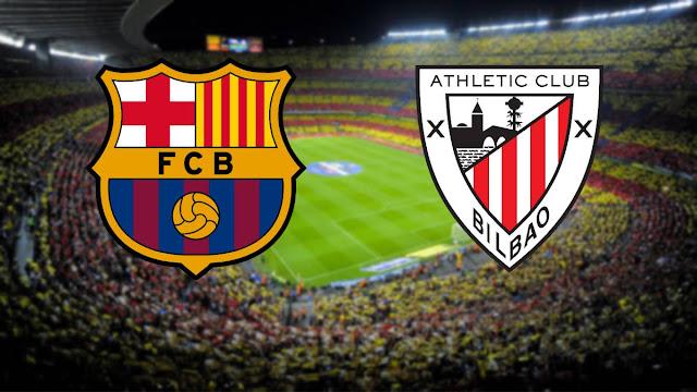 برشلونة ، حين تم استبعاد ميسي ، استسلم في Supercopa مع بلباو