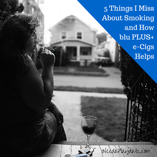 5 Things I Miss About Smoking and How #bluPLUS+ e-Cigs Helps #CollectiveBias #ad