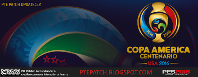 PES 2016 PTE Patch 5.2 Copa America 2016