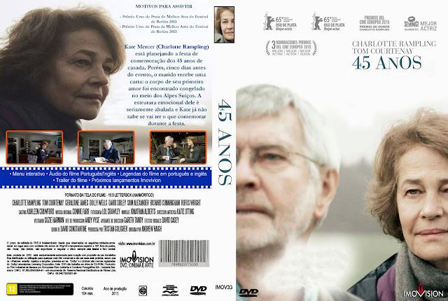 Capa DVD 45 Anos