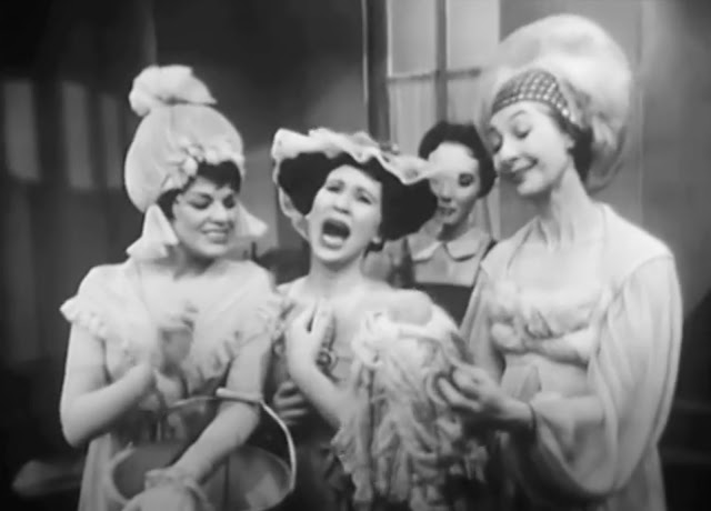 Kaye Ballard, Alice Ghostley, Julie Andrews, and Ilka Chase sing in 1957's Cinderella