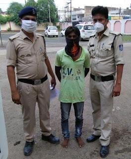 युवती का अपहरण कर दुष्कर्म करने वाला आरोपी पहुँचा जेल