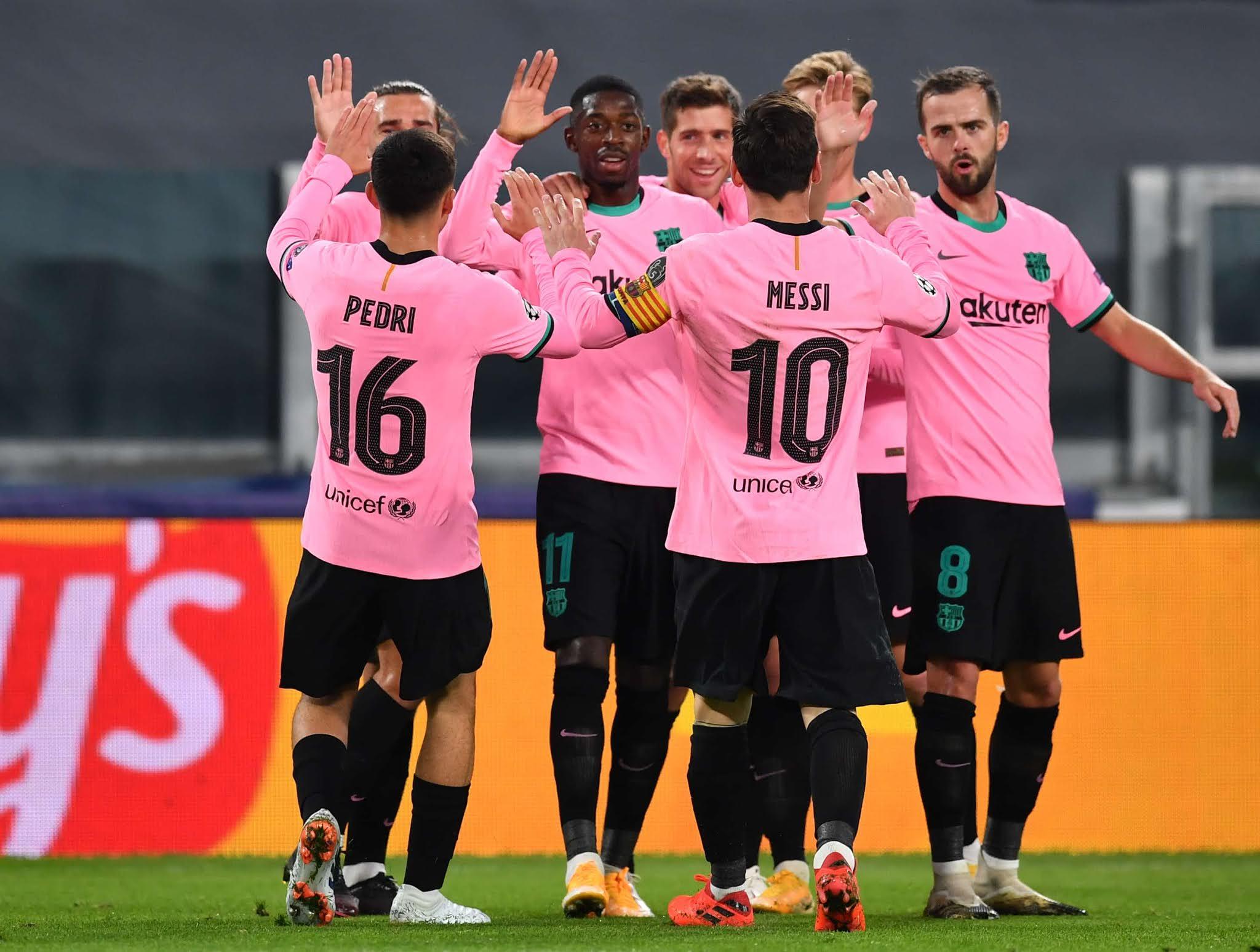 Juventus Barcelona Champions League