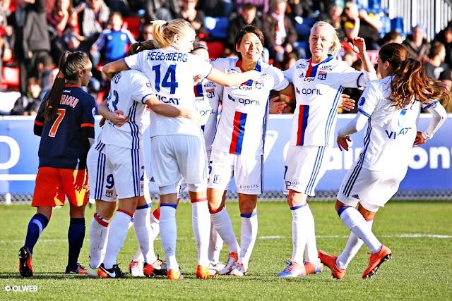 Lyon é eleito o melhor clube feminino de 2016