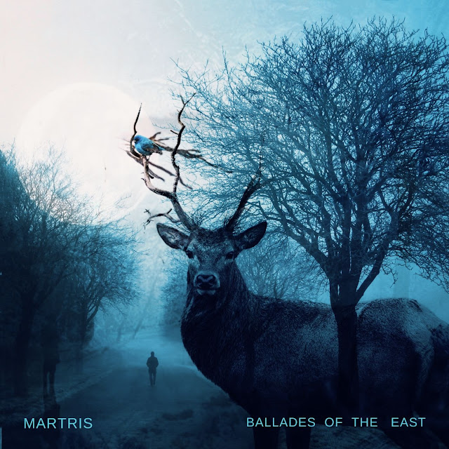 Ballades of the East ~ Martris ~CD cover © 2019 artwork by Martris