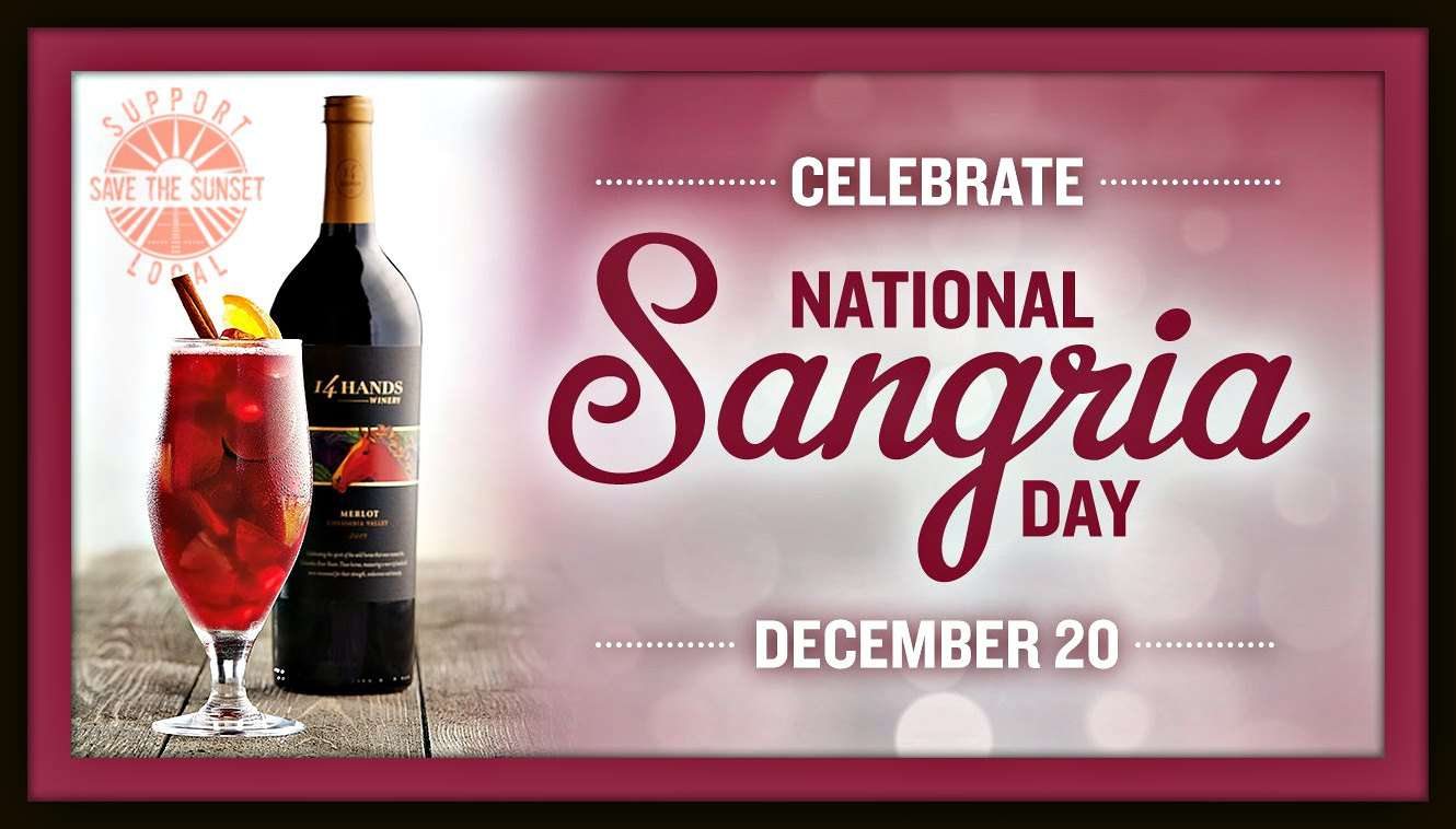 National Sangria Day Wishes For Facebook