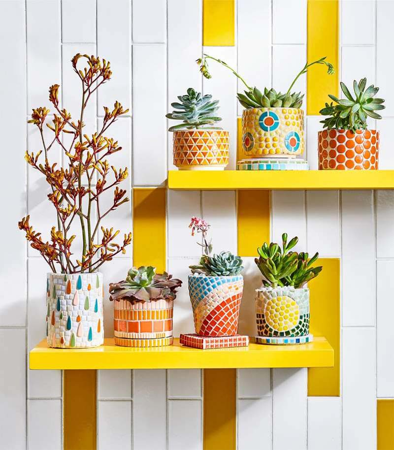 3 Easy Mosaic Projects to Make This Weekend