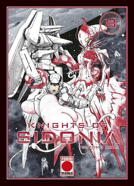 """Reseña de """"Knights of Sidonia"""" vol.8 de Tsutomu Nihei - Panini Cómics"""