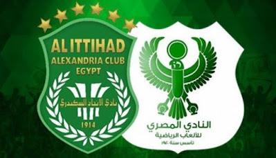 بث مباشر مباراة الاتحاد السكندري والمصري
