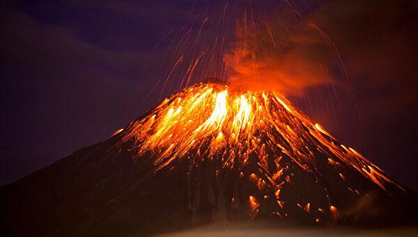 Кристаллы помогли оценить опасность спящего вулкана