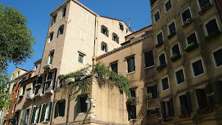 The Ghetto is notable for its tall buildings, built to accommodate a rapidly growing population