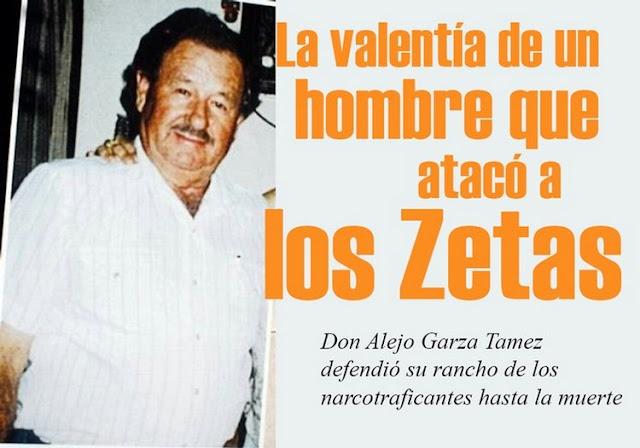 """Don Alejo era un viejo de 77 años pero con mucho """"producto de gallina"""", el gobierno le dio la espalda y decidió, enfrentarse a 30 Zetas manto a 4 y los demás huyeron el defendió su rancho"""