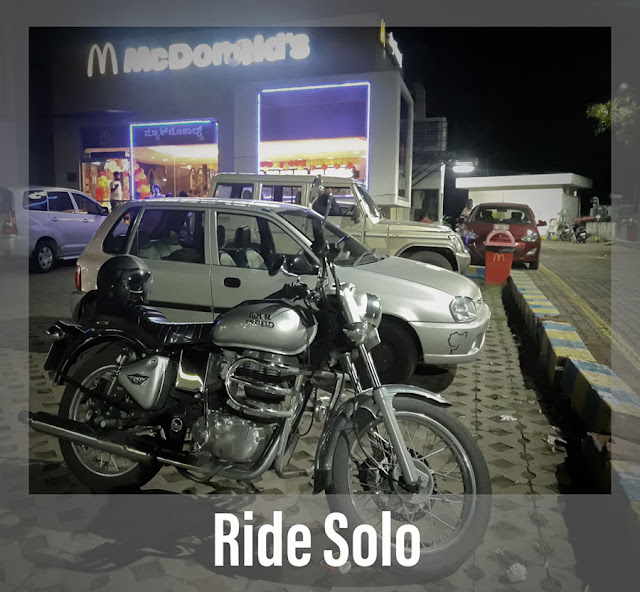 Ride Solo Royal Enfield RE 350