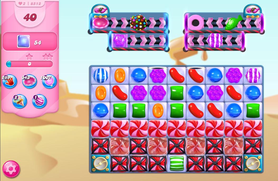Candy Crush Saga level 8512