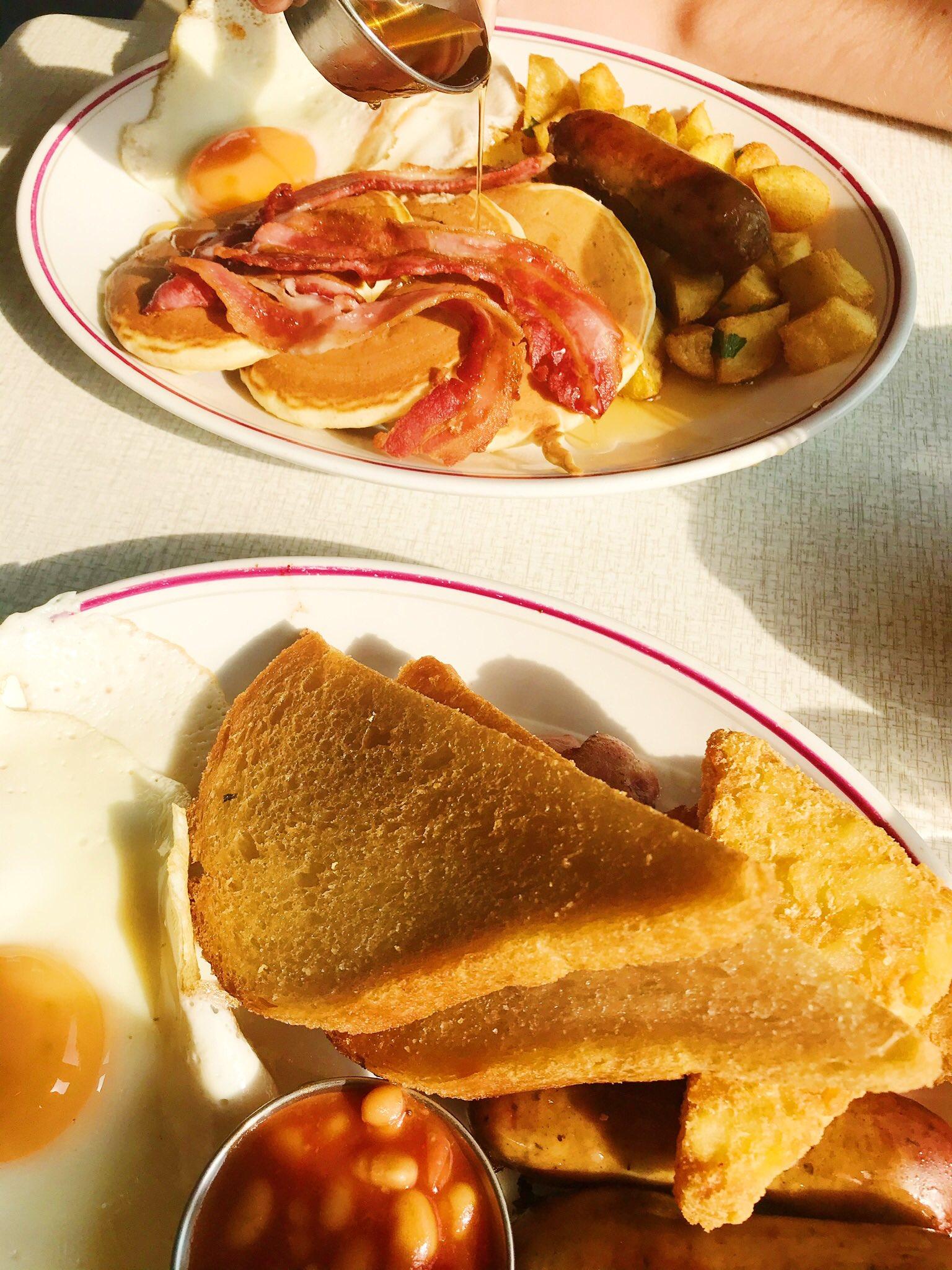 Breakfast at The Breakfast Club, Oxford