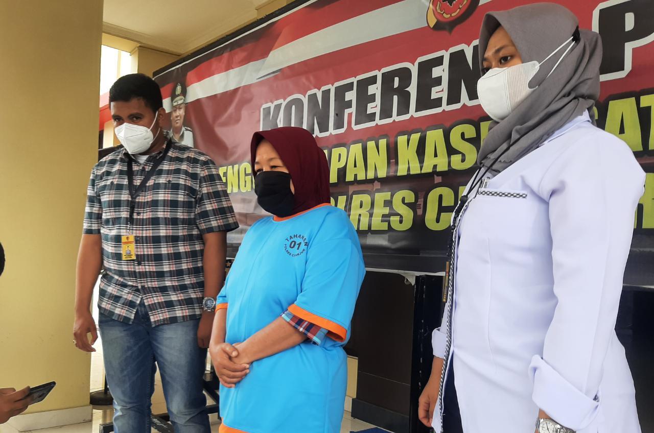 Sempat Buron, Akhirnya Mantan Kades Bunisari Cianjur Dibekuk Polisi Di Sukabumi