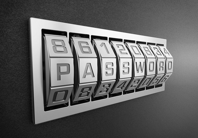 Fitur kemanan password (kata sandi)