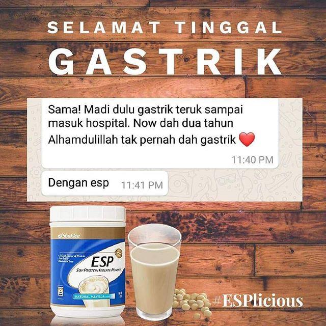 susu untuk gastrik