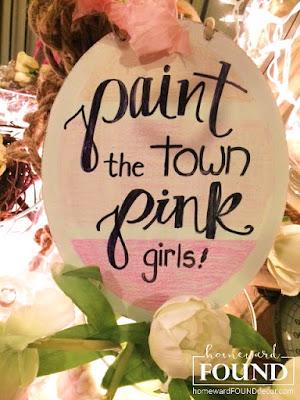 paper valentines day heart decor, paint chip decor, paint theme party, pink, valentines day, hearts, home decor, diy home decor, paper crafts