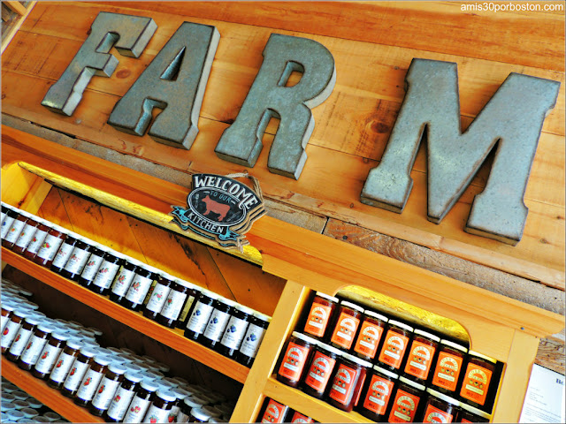 Granjas de Massachusetts: Supermercado de la Cider Hill Farm
