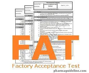 Factory Acceptance Test